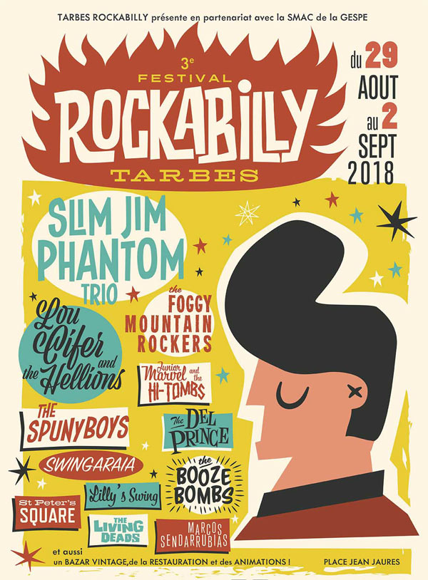 3E FESTIVAL ROCKABILLY PASS 2 JOURS