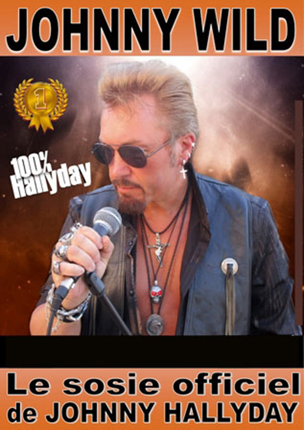 SOSIE DE JOHNNY HALLIDAY