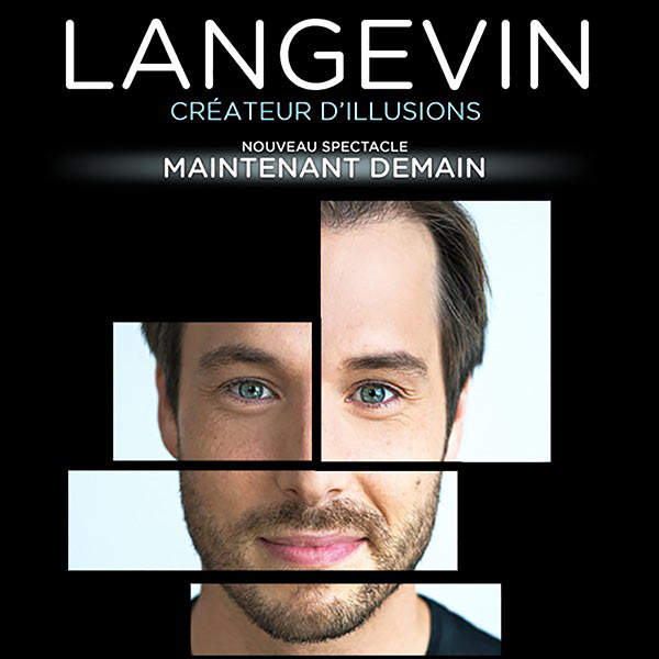 LUC LANGEVIN - MAINTENANT DEMAIN