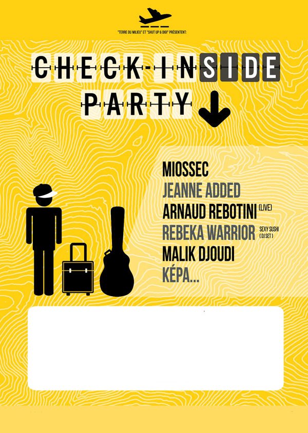 CHECK IN (SIDE) PARTY : J. ADDED