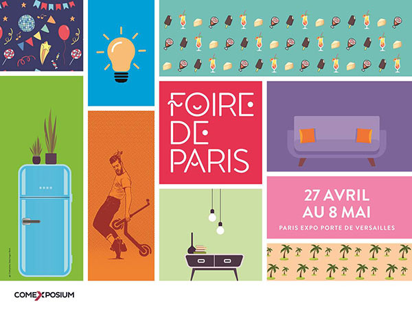 foire de paris paris expo porte de versailles paris 15. Black Bedroom Furniture Sets. Home Design Ideas