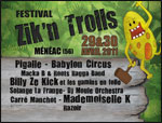 FESTIVAL ZIKAMETZ #13 LES TRINITAIRES concert d'électro
