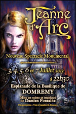 SPECTACLE MONUMENTAL JEANNE D'ARC
