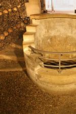 Affiche Les catacombes de paris