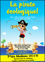 Affiche La pirate ecologique