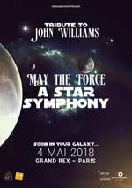 Affiche Tribute to john williams