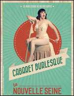 Affiche Cabaret burlesque