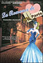 Affiche La romance de paris