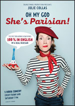 Affiche Oh my god she's parisian !