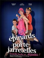 Affiche Epinards et porte jarretelles
