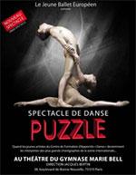 Affiche Le jeune ballet europã‰en