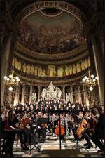 Affiche Concert de noël madeleine