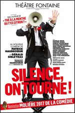 Affiche Silence, on tourne