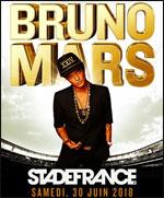 Affiche Bruno mars bus bordeaux