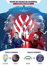 Affiche Finales coupe de france de handball