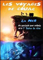 Affiche Les voyages de couac : la mer