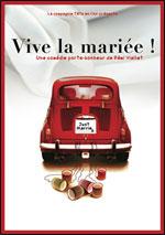 Affiche Vive la mariee