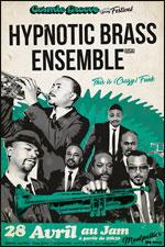 Affiche Hypnotic brass ensemble