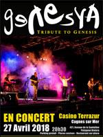 Affiche Genesya - tribute to genesis