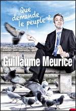 Affiche Guillaume meurice