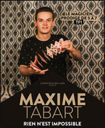 Affiche Maxime tabart