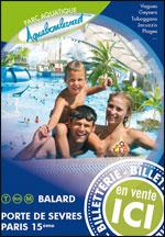 Affiche Parc aquatique de l'aquaboulevard