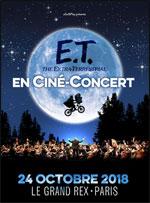Affiche E.t ciné-concert