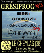 Affiche Gresiprog : the watch