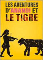 Affiche Les aventures d'anandi et le tigre