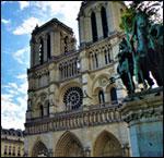 Affiche La cathedrale notre dame de paris