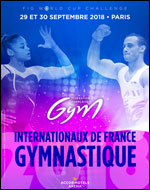 Affiche Internationaux de france