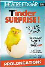 Affiche Tinder surprise