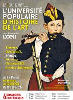 Affiche Universite d'histoire de l'art