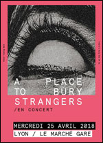 Affiche A place to bury strangers