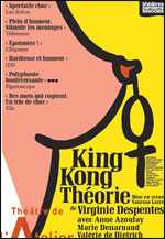 Affiche King kong theorie