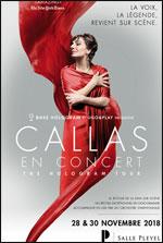 Affiche Callas en concert