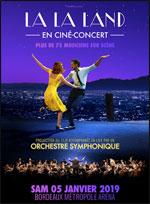 Affiche Lalaland en cinã‰-concert