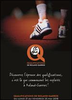 Affiche Roland - garros / qualifications