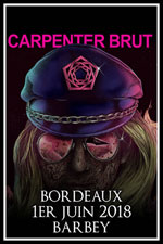 Affiche Carpenter brut