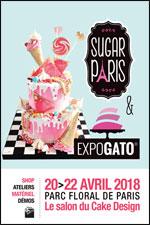 Affiche Sugar paris: salon du cake design