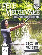 Affiche Fete medievale grand fougeray repas