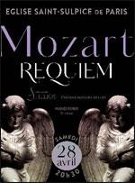 Affiche Requiem de mozart
