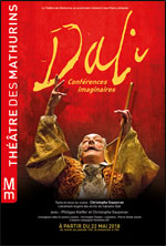 Affiche Dali, conferences imaginaires