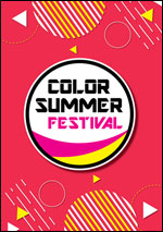 Affiche Color summer festival