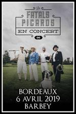 Affiche Les fatals picards + guest