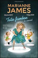 Affiche Marianne james - tatie jambon,