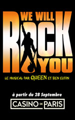 Affiche We will rock you