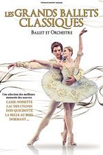 Affiche Les grands ballets classiques