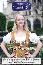 Affiche L'enquete du paris medieval