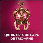 Affiche Qatar prix de l'arc de triomphe